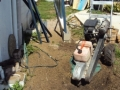 The All Access Stump-grinding machine will make short work of the problem roots