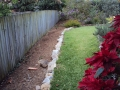 Garden bed cleared and made ready for mulch