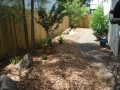 Garden re mulch