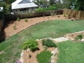 Overview of rear garden