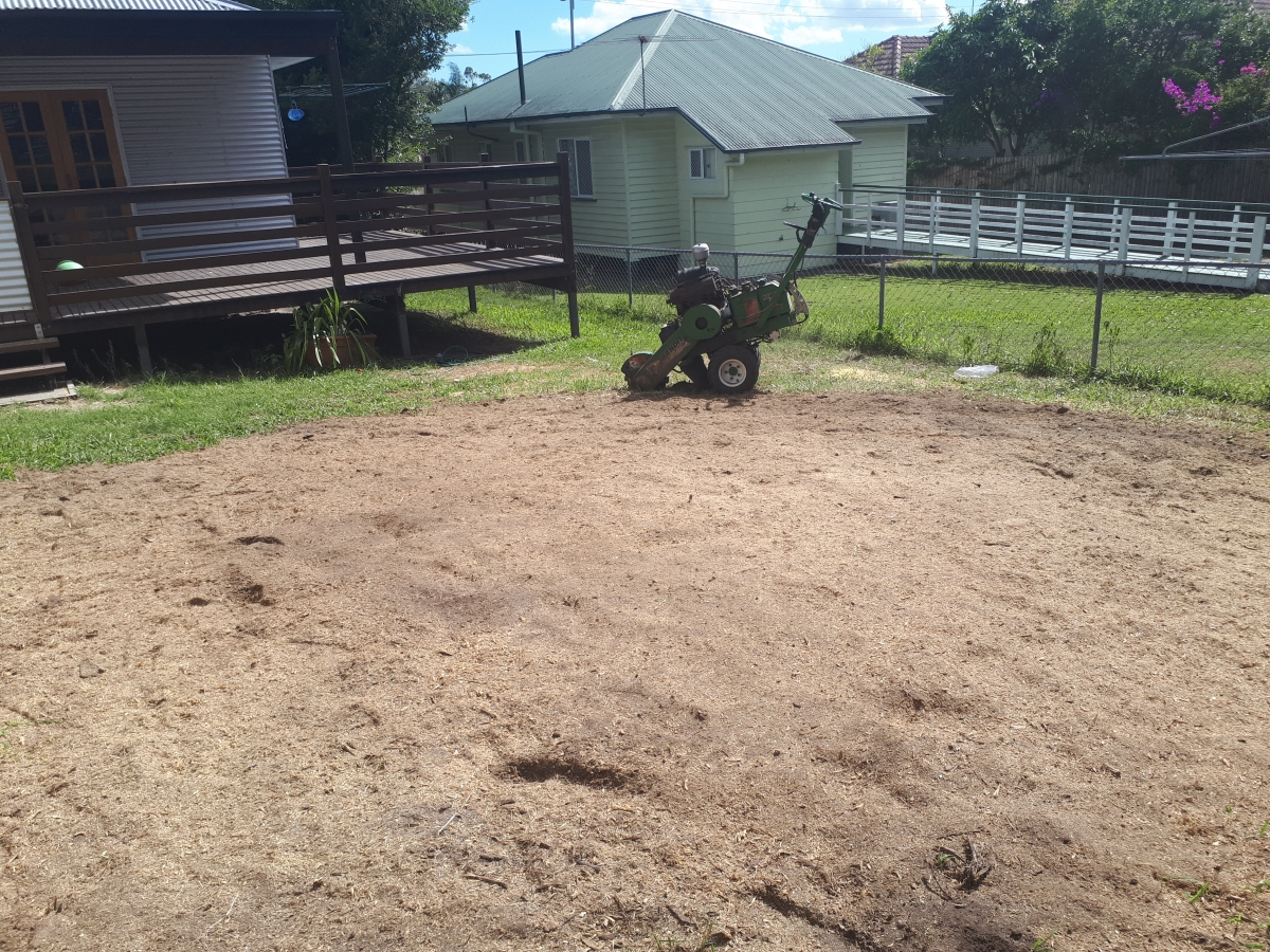 North Brisbane Stump Grinding by All Access Stump Grinding .